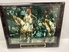New listing Chicago Bulls Jordan, Pippen, Rodman Autographed Action Photo w/ COA RARE