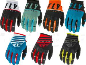 Fly Racing Kinetic Riding Gloves Adult Youth Motocross MX/ATV/BMX/MTB K120 K220
