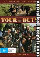 Tour Of Duty Season 3  DVD NEW, FREE POSTAGE WITHIN AUSTRALIA REGION ALL