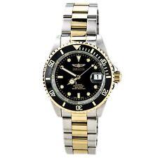 Invicta 8927C Men's Pro Diver Black Dial Two Tone Bracelet Automatic Dive Watch