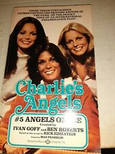 Charlie's angels Tv Paperback Book #5 Angels On Ice
