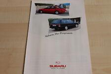 113037) Subaru SVX - Impreza - Legacy - Justy - Libero Prospekt 09/1993