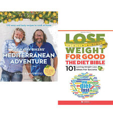 Hairy Bikers Mediterranean Adventure 2 Books Set Lose Weight For Good Pack NEW