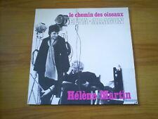 HELENE MARTIN Le chemin des oiseaux ELSA ARAGON LP AUVIDIS 1982