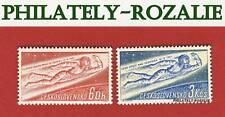 CZECHOSLOVAKIA SET STAMPS MNH ** 1961 Mi 1263/1264 J.A. GAGARIN
