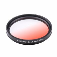 49mm Screw Mount Graduated Red Color Lens Filter for all DSLR SLR Camera Lens