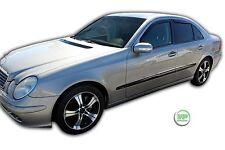 Dme23232 Mercedes Clase E W211 2002-2009 Viento desviadores 4pc Heko teñido