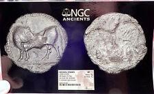 SYBARIS in LUCANIA 550BC Silver Nomos Stater Ancient Greek Coin BULL NGC  i61209