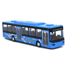 1:50 City Bus Alloy Diecast Model Toy Vehicle for Kids Boys Gift Blue