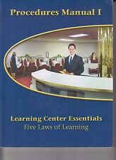 School of Tomorrow Learning Center Essentials 5 Laws Learning Procedures Man I