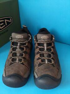 Keen Targhee III WP Mens Dark Brown Waterproof Walking Hiking Shoes Size uk 9