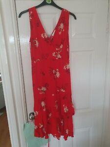 Women's Warehouse Floral Print Dress - 14