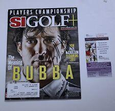 Bubba Watson Signed SI Golf Magazine Sports Illusrated JSA COA