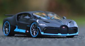 1:24 Maisto Bugatti Chiron Divo Diecast Model Racing Car Vehicle New in Box