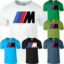 BMW M Potencia para hombre Camiseta S fórmula Motorsports Coche de Carreras Adulto Top T-Shirt