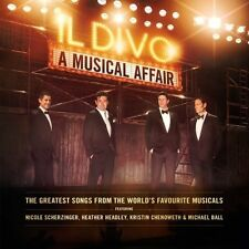 IL DIVO - A MUSICAL AFFAIR  CD  12 TRACKS  INTERNATIONAL POP  NEU