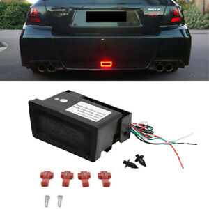 1x LED Rear Fog Lamp Brake Reverse Light For Subaru WRX STi Impreza XV Crosstrek