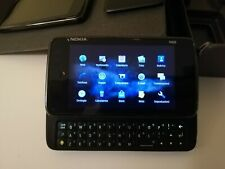 NOKIA N900 32GB NERO 5MPX OS MAEMO 5 LINUX con ricambi