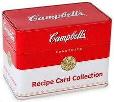 NEW Recipe Card Box Campbell's by Publications International Staff FREE SHIPPING