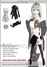 CC176 1/6 DOLLSFIGURE Fashion OL Clothing Set for HOT TOYS,VERY COOL TOYS,KUMIK