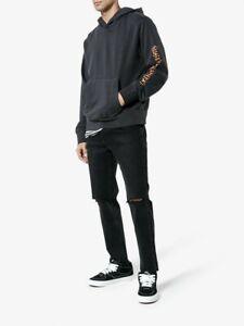 Ksubi X Travis Scott Black Flame Chitch Black Denim Jeans Size 29 RARE SOLD OUT