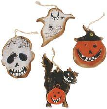 (Single Asst.) Halloween Wooden Tree Dec