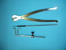 Luthier Violin Tool Sound Post Set, Gauge, Retriver  Y VWWS