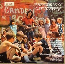 LP  Cat Stevens - The World of Cat Stevens  -  washed - cleaned; Glanzcover