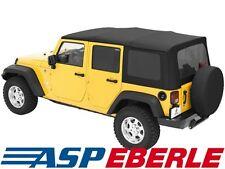Softtop di ricambio BESTOP Copertura Nero Jeep Wrangler JK Unlimited 07-09