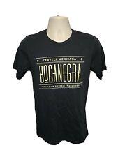 Cerveza Mexicana BocaNegra Adult Small Black Tshirt