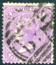 MAURITIUS-1865 5/- Bright Mauve Sg 72 GOOD USED  V15440