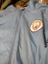 Manchester City Nike Lightweight Full Zip Mens Raincoat Jacket Size Medium
