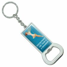 Procrastinate Like There is a Tomorrow Rectangle Metal Bottle Opener Keychain
