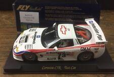 slot fly E121 Corvette C5R Test Car Miniauto