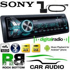 CITROEN SAXO SONY DAB + & ANTENNA BLUETOOTH USB AUX 3 RCA STEREO AUTO LETTORE Refurb