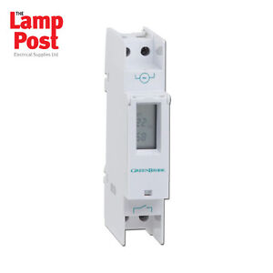 Greenbrook T80-C Digital DIN Rail Mounting Time Switch 7 Day / 24 Hour