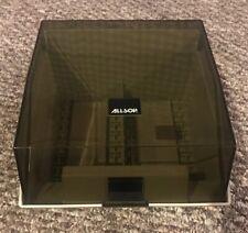 "Vintage ALLSOP 3.5"" Floppy Disk Storage Box Case Holder 2 Rows"