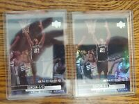 1999-00 Upper Deck Encore San Antonio Spurs Basketball Card #71 Tim Duncan lot 2