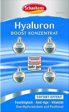 Schaebens HYALURON BOOST Konzentrat mit Duo-Hyaluron 4 Kapseln Gesichtsmaske