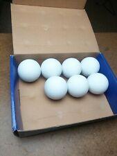 Champion White Seven Lacrosse Balls Meet Ncaa Specs
