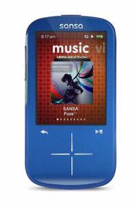 SanDisk SDMX20R-004GK-C57 Sansa Fuze+ 4GB MP3 Player Blue (Open Box)