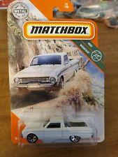 2020 Matchbox White 61 Ford Ranchero