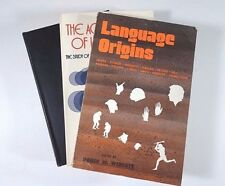 Lot (3) Language Origins Sory of Acquisition of Language (Pei, McNeill, Wescott)