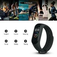 M4 Smart Band Fitness Tracker Watch Sport Bracelet Blood Pressure Rate New R7X8