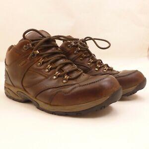 Cabelas X4 Hiking Boots Mens 11 EE Mid-Height Brown Leather Dry-Plus Waterproof
