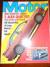 Motor 21/3/81 Audi Quattro