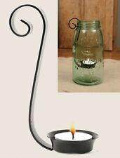 Unique Bridal Scroll Tea Light Candle Holder for Quart Mason Canning Fruit Jars