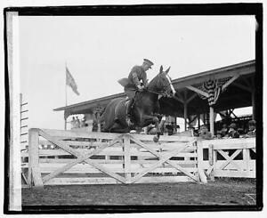 Photo:Lt. McCreery,Horseback Riding,Equestrian,Jumping,May 13,1922 6596