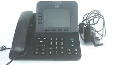 Cisco CP-8945 Unified 4-Line PoE VoIP Video Phone Bluetooth SCCP