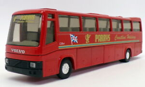 Joal 1/50 Scale Model Bus 149 - Volvo Coach Parrys - Red